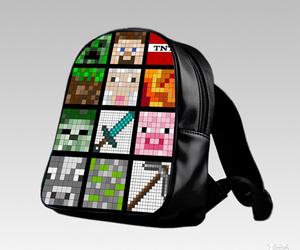 bag, cartoon, and kid image