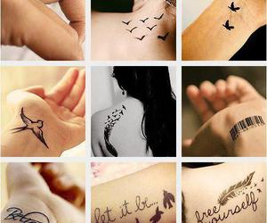 pretty, Tattoos, and cute image