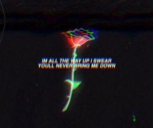Lyrics and quote image
