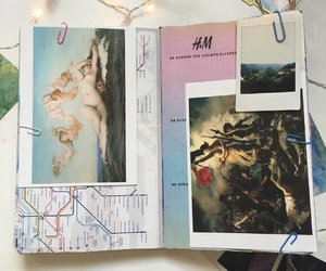H&M, scrapbooking, and journal image