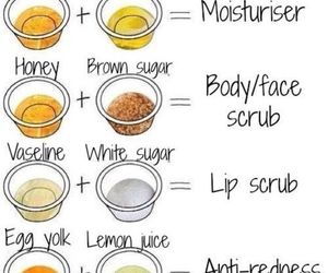 diy, beauty, and scrub image