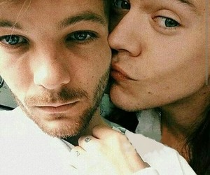louis tomlinson, Harry Styles, and edit image