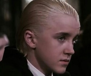 harry potter, draco malfoy, and gif image