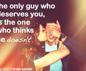 love, guy, and quote image