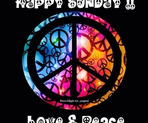 boho, hippie, and peace and love image