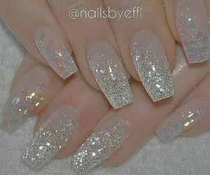 beautiful, nails, and bright image