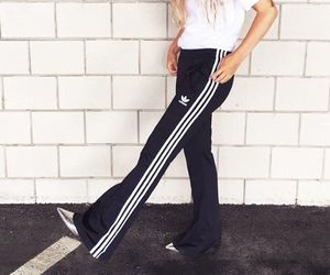 adidas, fashion, and pants image