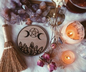 magic, witch, and witchcraft image