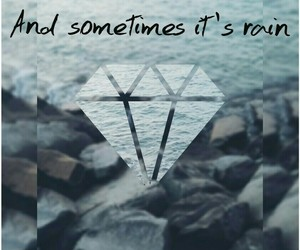diamond, Lyrics, and music image