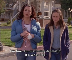 gilmore girls, quotes, and drama image