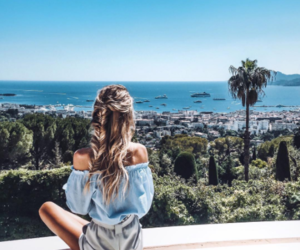 girl, nature, and photo image