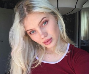 girl, beauty, and girly image