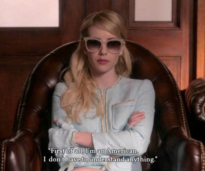 bitchy, emma roberts, and funny image