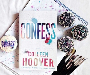book, confess, and colleen hoover image
