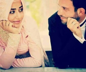 muslim love, hijab love, and hijab couples image