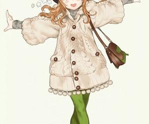 anime, anime girl, and hat image