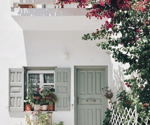home, house, and mykonos image