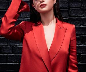selena gomez, red, and selena image
