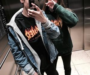 elevator, goals, and grunge image