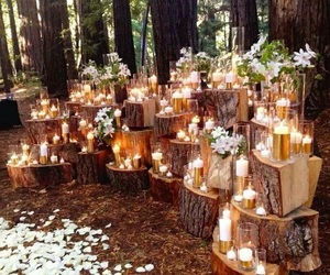 wedding and candles image