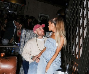 ariana grande, mac miller, and Relationship image
