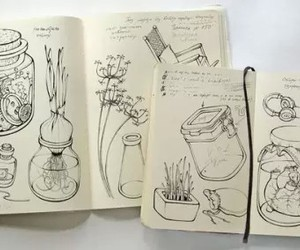 drawing and moleskine image