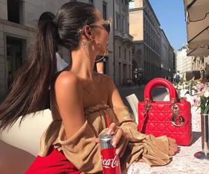 fashion, red, and luxury image