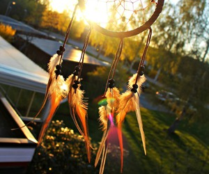 dreamcatcher, hipster, and summer image