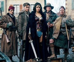 chris pine, wonder woman, and comics image