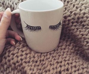 cup, girly, and coffee image