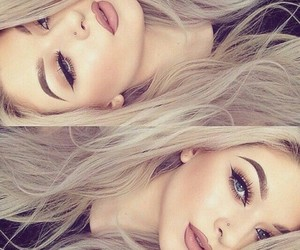 makeup, pretty, and summermakeup image