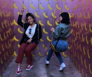 banana, happy, and funny image