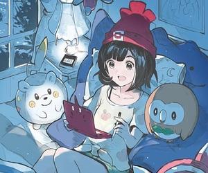 pokemon, moon, and cute image
