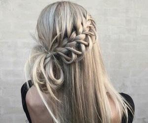 girl, hair, and haj image