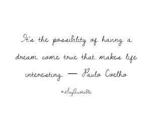 book, Dream, and paulo coelho image