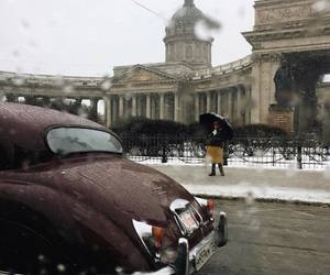 car and st. petersburg image
