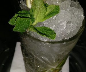 cocktail, drink, and mojito image