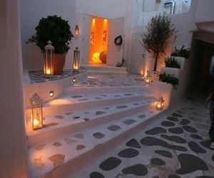 Greece, luxury, and night image