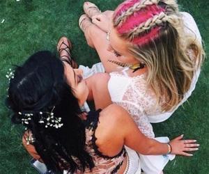 coachella, festival, and girl image