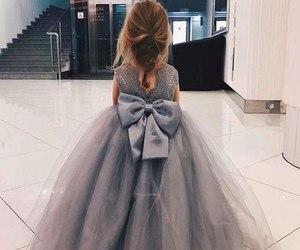 dress, fashion, and baby image