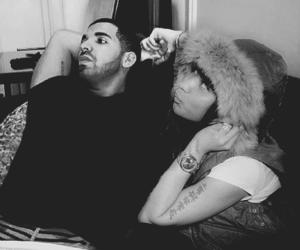 nicki minaj, Drake, and drizzy image