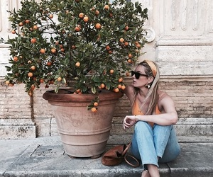 orange and fashion image