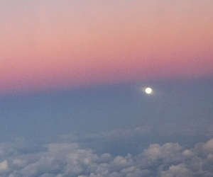 clouds, gradient, and pink image