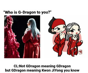 CL, gd, and gdragon image