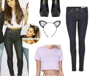 fashion, style inspiration, and ariana grande image