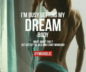 motivation, gymaholic, and fitness image