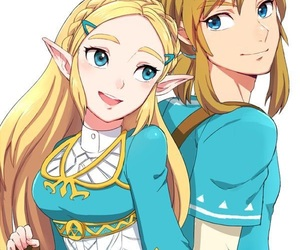 breath of the wild, game, and link image
