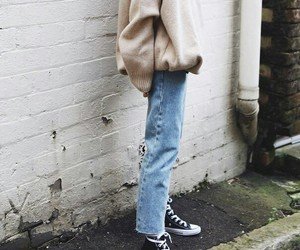 casual, clothes, and converse image