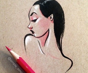 beauty, draw, and future image
