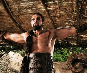 got, game of thrones, and khal image